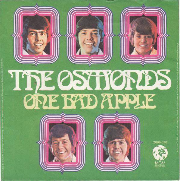 Bild The Osmonds - One Bad Apple (7, Single) Schallplatten Ankauf
