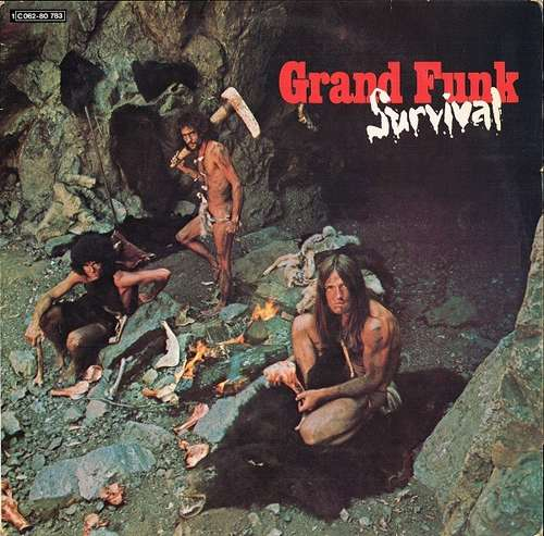 Cover zu Grand Funk* - Survival (LP, Album) Schallplatten Ankauf