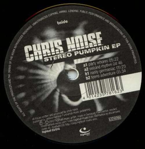 Cover zu Chris Noise - Stereo Pumpkin EP (12, EP) Schallplatten Ankauf