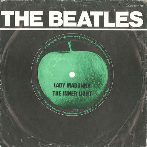 Cover The Beatles - Lady Madonna / The Inner Light (7, Single, RE) Schallplatten Ankauf