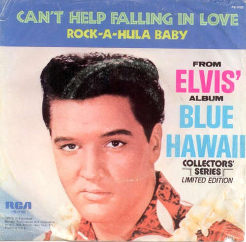 Cover Elvis Presley With The Jordanaires - Can't Help Falling In Love / Rock-A-Hula Baby (7, Mono, Ltd, RE) Schallplatten Ankauf