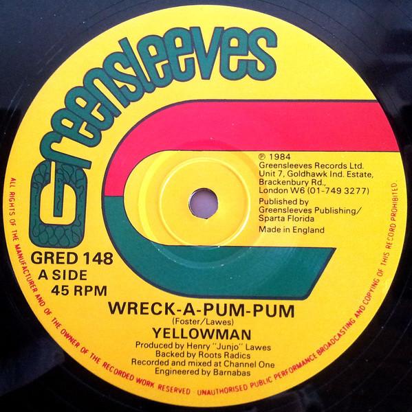 Cover Yellowman - Wreck-A-Pum-Pum / Nobody Move Nobody Get Hurt (12) Schallplatten Ankauf