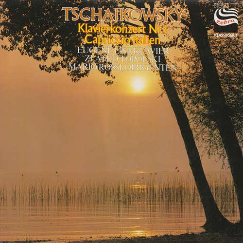 Cover zu Tschaikowsky* - Klavierkonzert Nr. 1 - Capriccio Italien (LP, Album) Schallplatten Ankauf