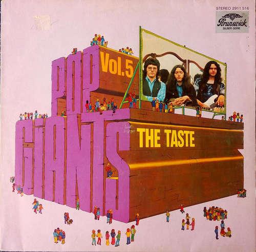 Bild The Taste* - Pop Giants, Vol. 5 (LP, Comp) Schallplatten Ankauf