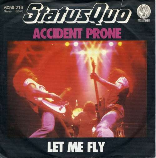 Bild Status Quo - Accident Prone (7, Single) Schallplatten Ankauf