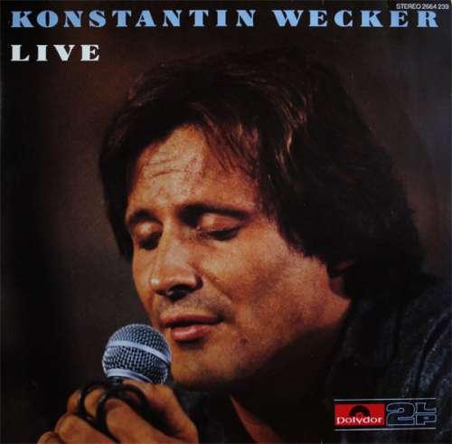 Bild Konstantin Wecker - Live (2xLP, Album) Schallplatten Ankauf