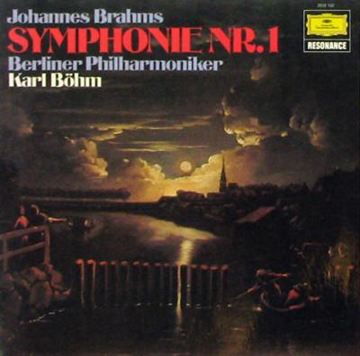 Bild Johannes Brahms, Berliner Philharmoniker, Karl Böhm - Symphonie Nr. 1 (LP, RE) Schallplatten Ankauf