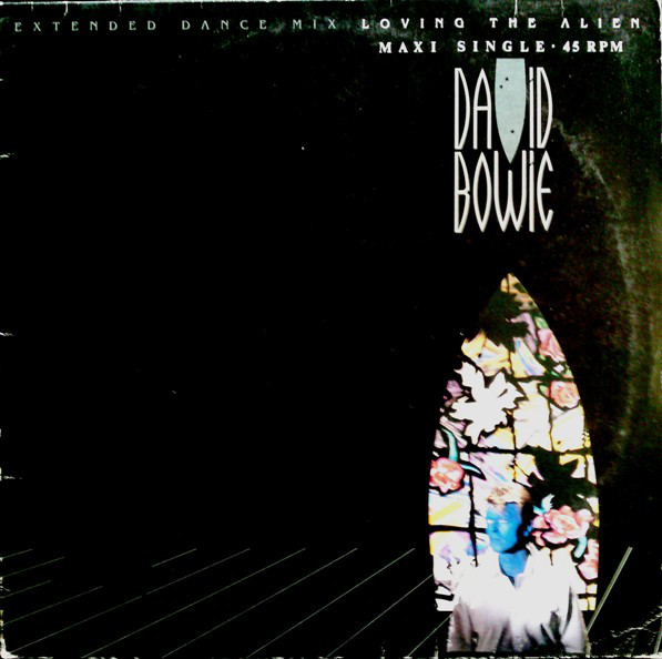 Cover David Bowie - Loving The Alien (Extended Dance Mix) (12, Maxi) Schallplatten Ankauf