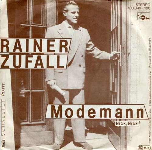Bild Rainer Zufall - Modemann (7, Single) Schallplatten Ankauf