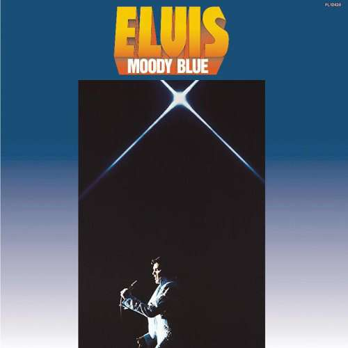 Cover Elvis Presley - Moody Blue (LP, Album) Schallplatten Ankauf