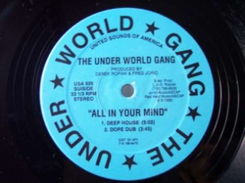 Bild The Under World Gang - All In Your Mind (12) Schallplatten Ankauf