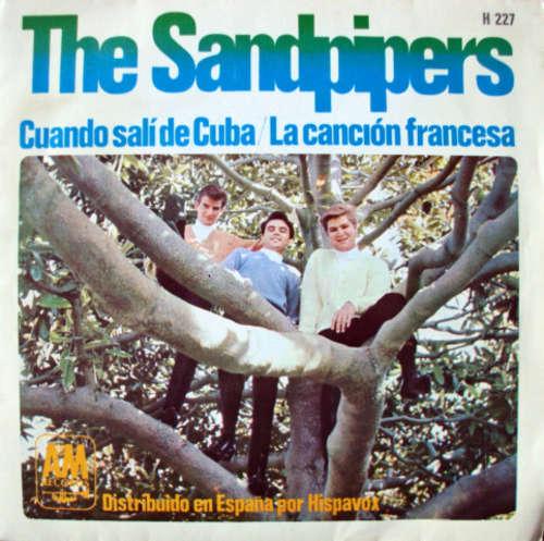 Cover The Sandpipers - Cuando Salí De Cuba / La Canción Francesa (7, Single) Schallplatten Ankauf