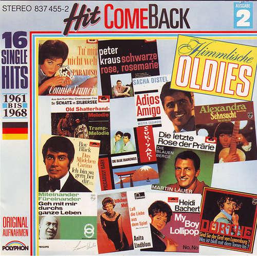Cover zu Various - Hit Come Back • Himmlische Oldies • Nr. 2 • 16 Single Hits 1961 Bis 1968 • Originalaufnahmen (CD, Comp) Schallplatten Ankauf