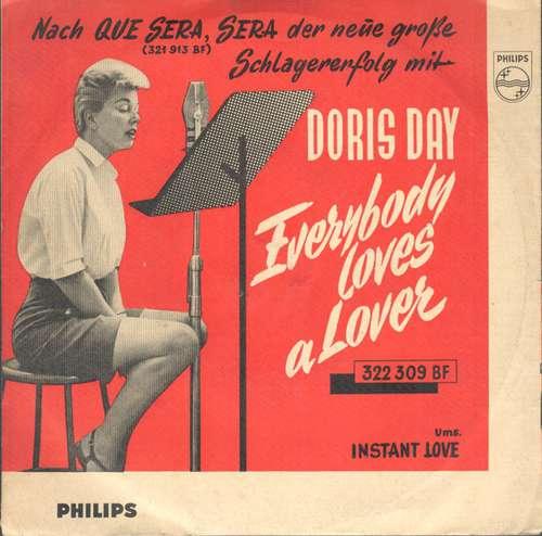 Cover zu Doris Day - Everybody Loves A Lover / Instant Love (7, Single) Schallplatten Ankauf