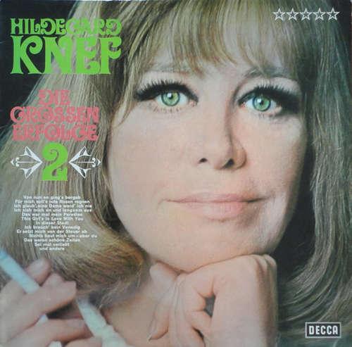 Cover Hildegard Knef - Die Grossen Erfolge 2 (LP, Comp) Schallplatten Ankauf