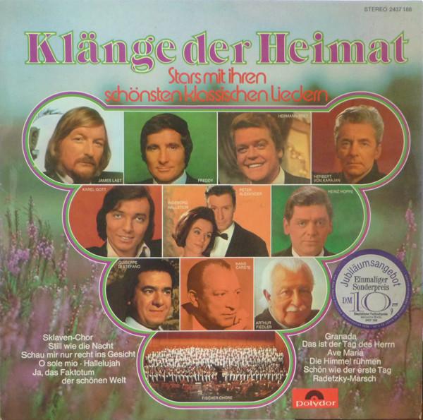Cover zu Various - Klänge Der Heimat (LP, Comp) Schallplatten Ankauf