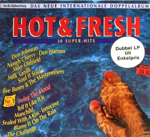 Cover Various - Hot & Fresh - Das Neue Internationale Doppelalbum (30 Super-Hits) (2xLP, Comp) Schallplatten Ankauf