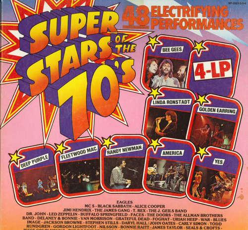 Bild Various - Super Stars Of The 70's (4xLP, Comp, Box) Schallplatten Ankauf