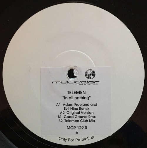 Bild Telemen - In All Nothing (12, Promo, W/Lbl) Schallplatten Ankauf