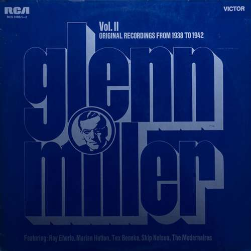 Cover zu Glenn Miller - Vol. II Original Recordings 1938 - 1942 (2xLP, Comp, Gat) Schallplatten Ankauf