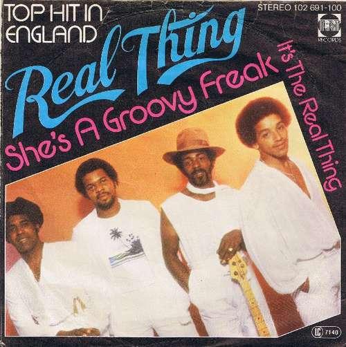 Bild Real Thing* - She's A Groovy Freak (7, Single) Schallplatten Ankauf