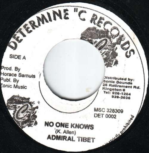 Bild Admiral Tibet - No One Knows (7) Schallplatten Ankauf
