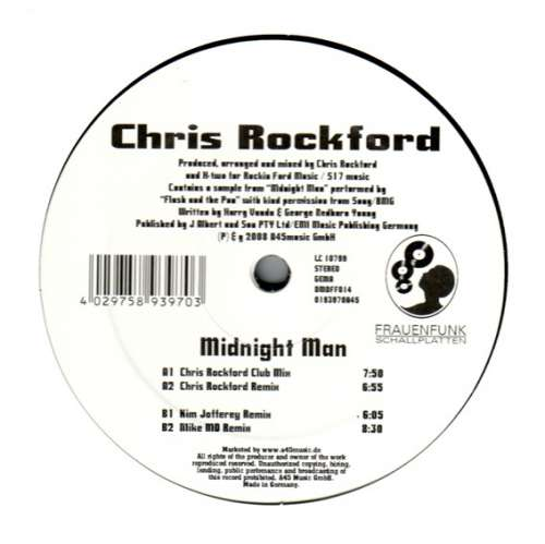 Bild Chris Rockford - Midnight Man (12) Schallplatten Ankauf