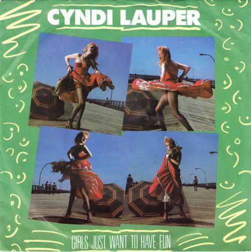 Cover zu Cyndi Lauper - Girls Just Want To Have Fun (7, Single) Schallplatten Ankauf