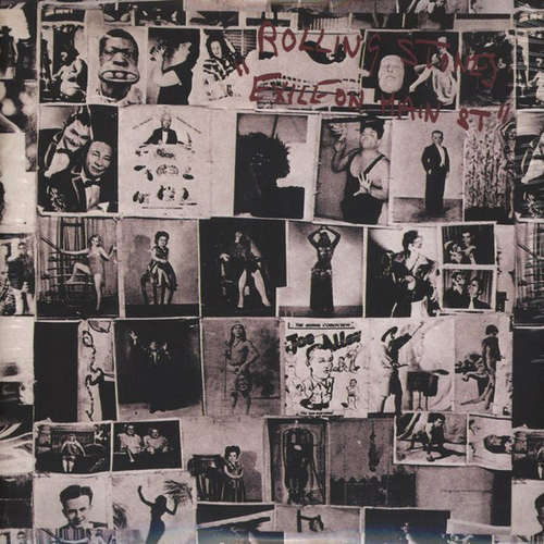 Cover The Rolling Stones - Exile On Main St. (2xLP, Album, RE) Schallplatten Ankauf