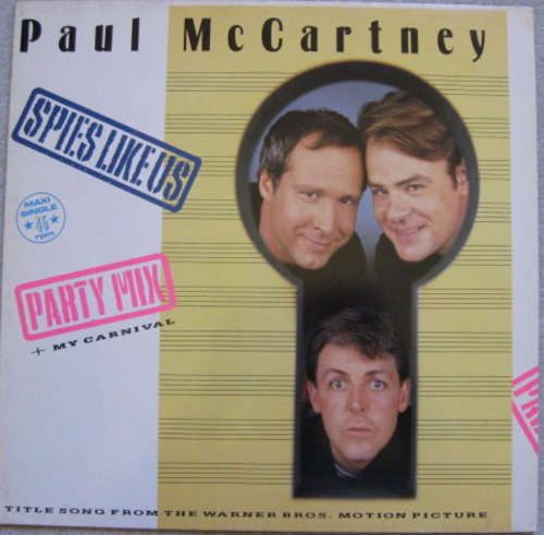 Bild Paul McCartney - Spies Like Us (Party Mix) (12, Maxi) Schallplatten Ankauf