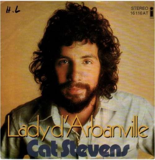 Cover Cat Stevens - Lady D'Arbanville (7, Single, RE, new) Schallplatten Ankauf