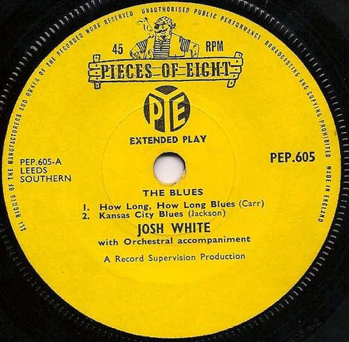 Bild Josh White / Big Bill Broonzy - The Blues (7, EP) Schallplatten Ankauf