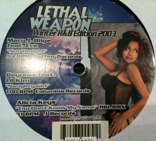 Cover Various - Lethal Weapon Winter R&B Edition 2003 (12) Schallplatten Ankauf