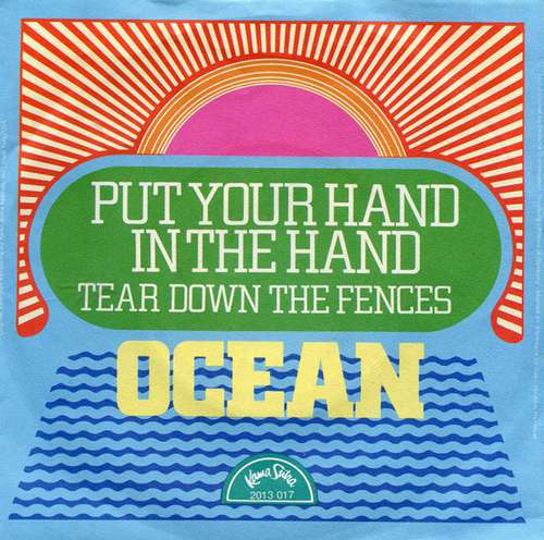 Cover Ocean (3) - Put Your Hand In The Hand (7, Single) Schallplatten Ankauf
