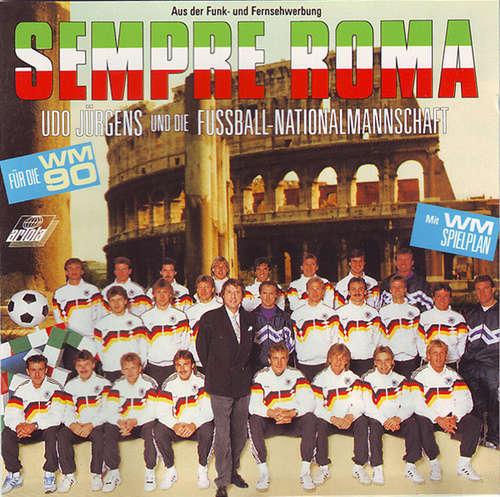 Cover Udo Jürgens & Die Fußball-Nationalmannschaft - Sempre Roma (CD, Album) Schallplatten Ankauf