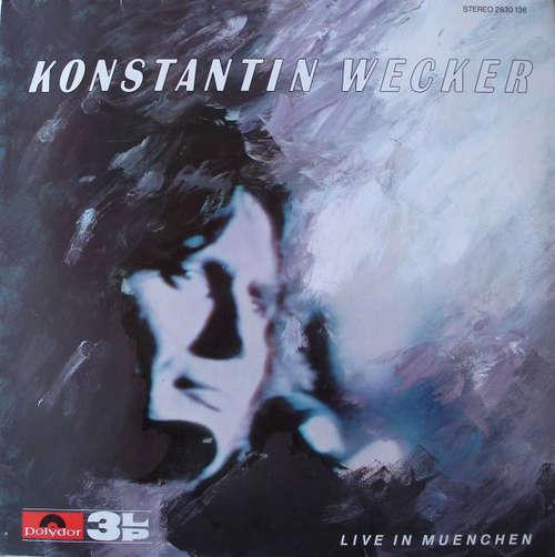 Bild Konstantin Wecker - Live In Muenchen (3xLP, Album) Schallplatten Ankauf