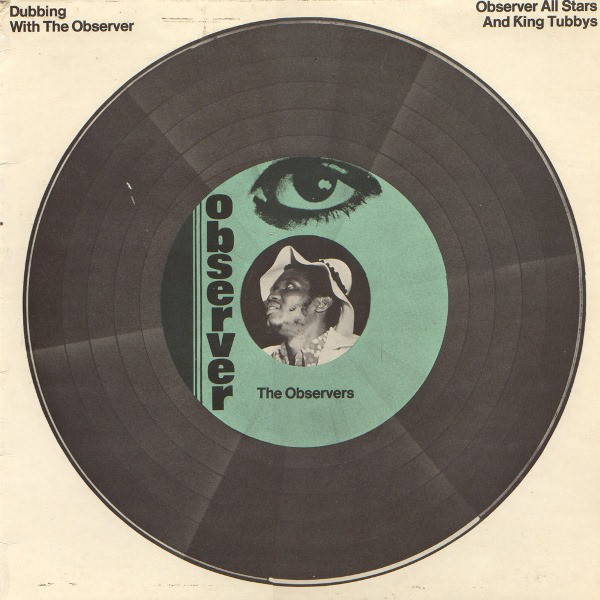 Cover Observer All Stars* And King Tubbys* - Dubbing With The Observer (LP, Album) Schallplatten Ankauf