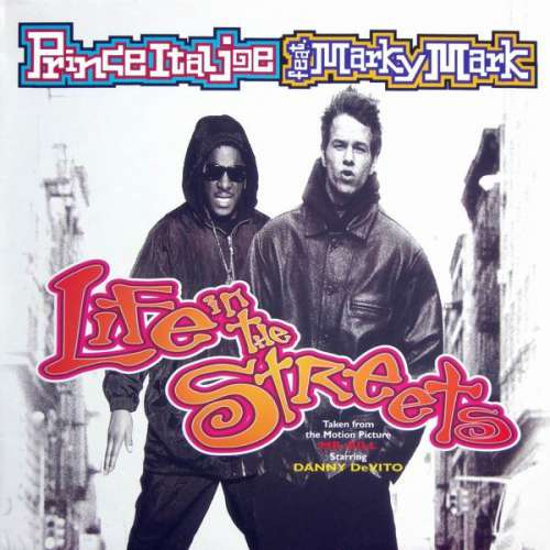 Cover Prince Ital Joe Feat. Marky Mark - Life In The Streets (12) Schallplatten Ankauf