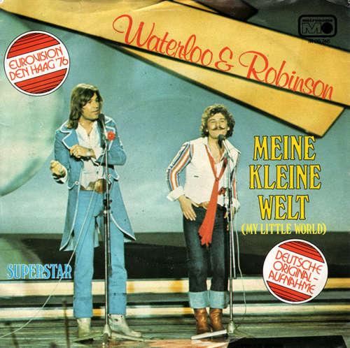 Bild Waterloo & Robinson - Meine Kleine Welt (7, Single) Schallplatten Ankauf