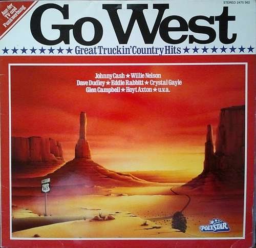 Bild Various - Go West - Great Truckin' Country Hits (LP, Comp) Schallplatten Ankauf