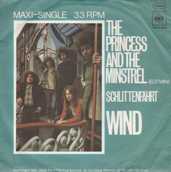 Cover Wind (5) - The Princess And The Minstrel (7, Maxi) Schallplatten Ankauf