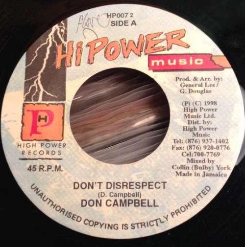 Bild Don Campbell - Don't Disrespect (7) Schallplatten Ankauf
