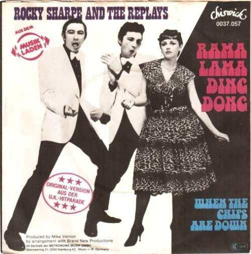 Bild Rocky Sharpe And The Replays* - Rama Lama Ding Dong (7, Single) Schallplatten Ankauf
