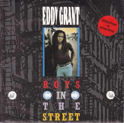 Cover Eddy Grant - Boys In The Street (7, Single, Red) Schallplatten Ankauf