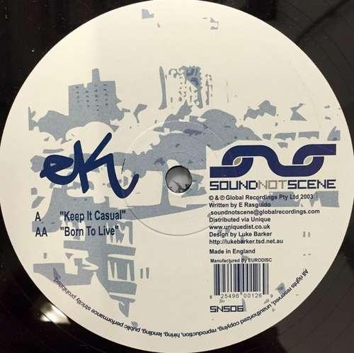 Bild EK - Keep It Casual / Born To Live (12) Schallplatten Ankauf