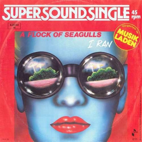 Cover A Flock Of Seagulls - I Ran (12, Single) Schallplatten Ankauf