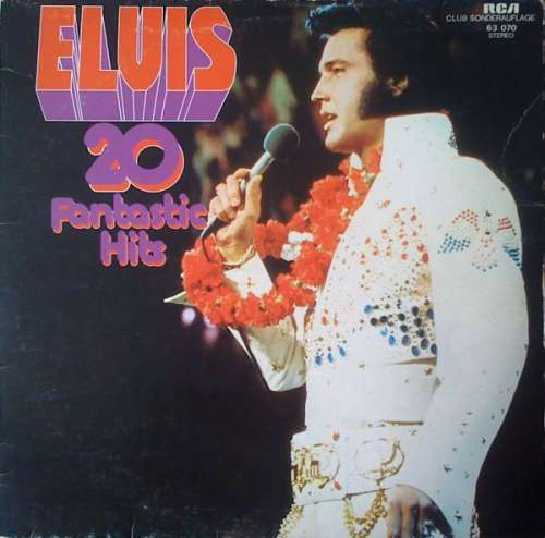 Cover Elvis Presley - 20 Fantastic Hits (LP, Comp, Club, No ) Schallplatten Ankauf