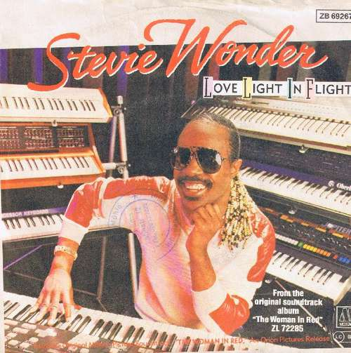 Cover zu Stevie Wonder - Love Light In Flight (7, Single) Schallplatten Ankauf