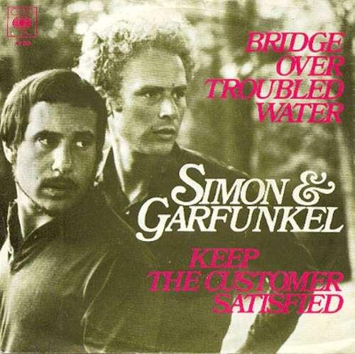 Bild Simon & Garfunkel - Bridge Over Troubled Water / Keep The Customer Satisfied (7, Single) Schallplatten Ankauf