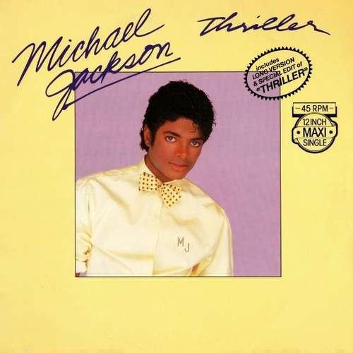 Cover Michael Jackson - Thriller (12, Maxi) Schallplatten Ankauf